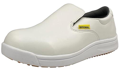 DDTX Unisex-Adult'Slip y aceite resistente a la industria ligera Zapatos de la Industria Blanco(40) BogjhSE0