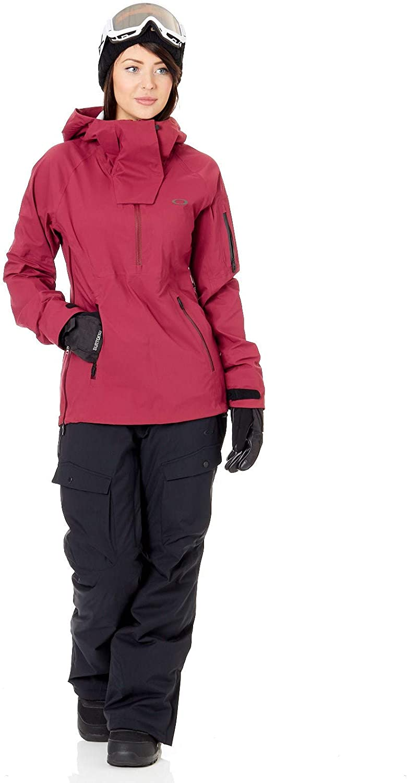 Oakley Mens WOMEN'S SNOW SHELL JKT 15K 3L ANORAK, Burgundy  qZbhb