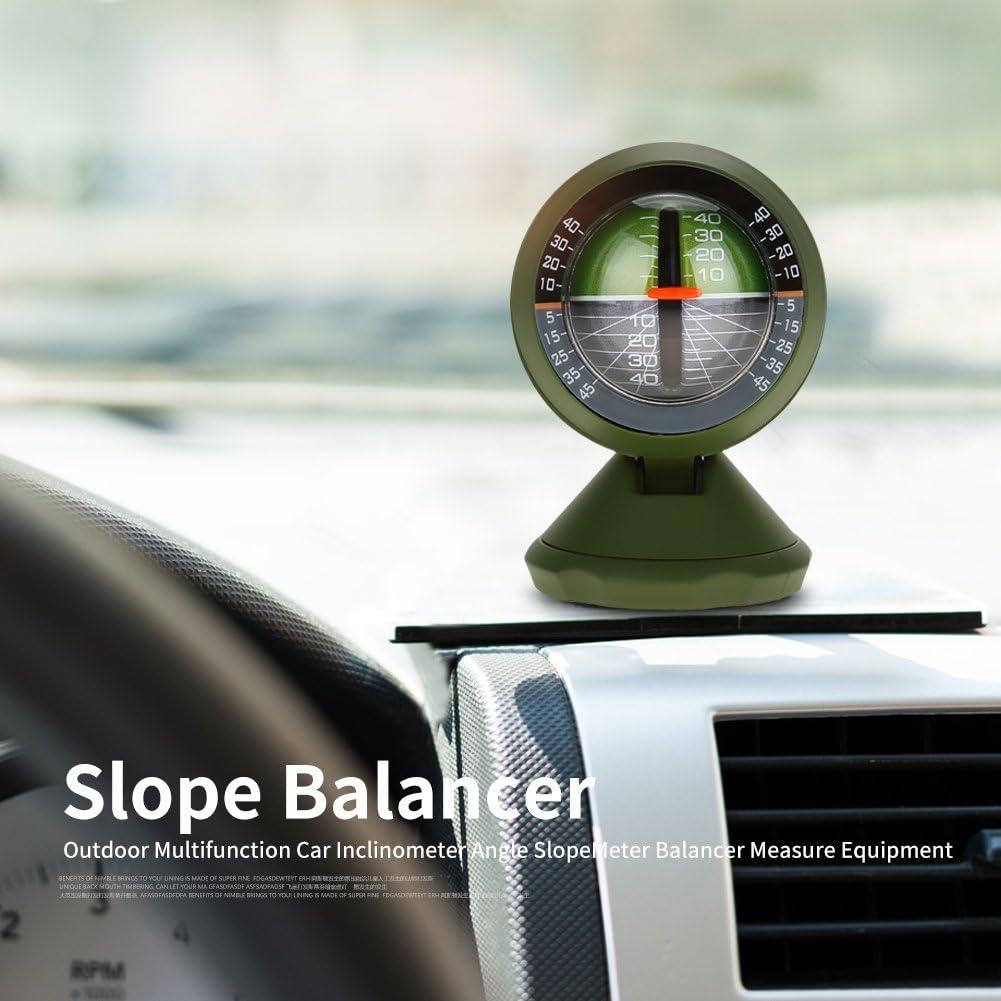 Inclinom/ètre de Voiture Angle Pente Inclinaison Indicateur Level Meter Gradient Balancer pour Bateau de Voiture