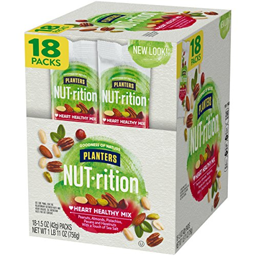 Planters Nutrition Heart Healthy Mix, 1.5 Ounce, Pack of 18 by Planters (Image #3)