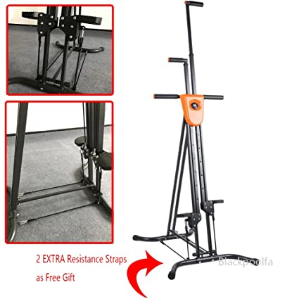 60bd97c11f1 Vertical Climber with Cast Iron Frame and Digital Display As Seen On TV