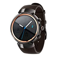 ASUS ZenWatch 3 (WI503Q) Smart Watch - International Stock (Black)