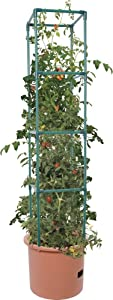 Hydrofarm GCTB2 Heavy Duty Tomato Barrel with 4' Tower, Green