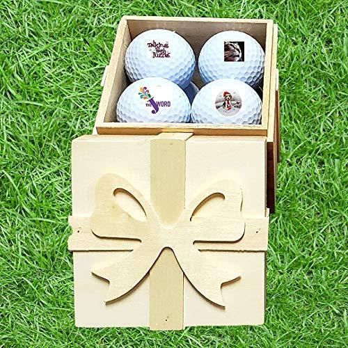 フォトゴルフボールセット カスタマイズ可 B07LCW6YV6