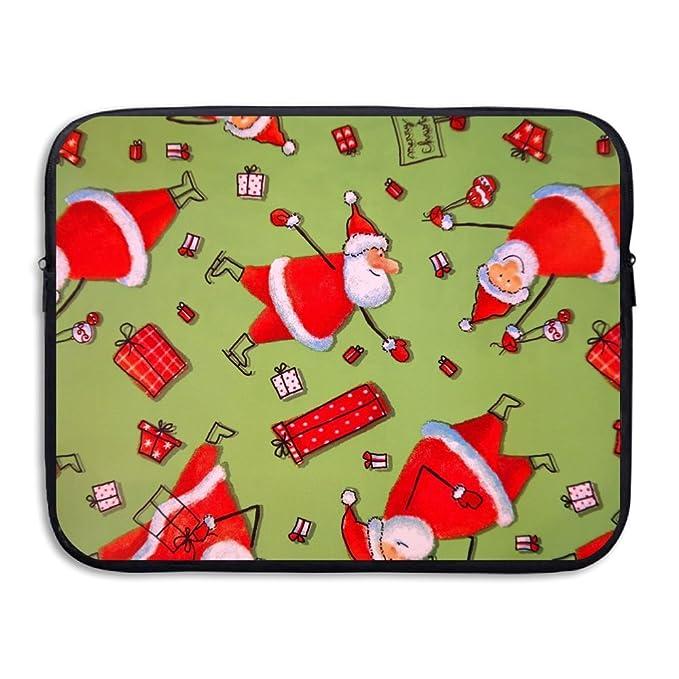 fceba35f3eaa Amazon.com: Merry Christmas Ornaments Notebook Briefcase Laptop ...