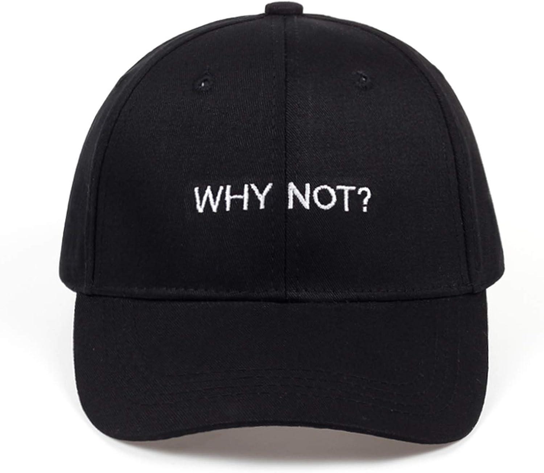 New WHY NOT Baseball Cap Hip Hop Hat for Men Women Dad hat Gorras Boy Girls Cotton/% Hat Bone Caps