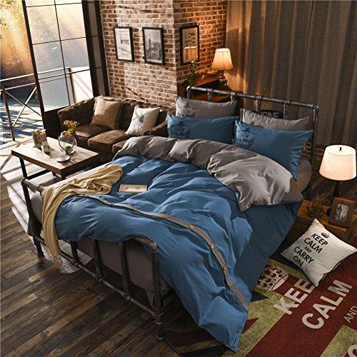 steel blue comforter - 9