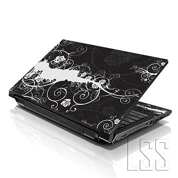 LSS - Adhesivo decorativo para ordenador portátil de 10,2 pulgadas, compatible con HP