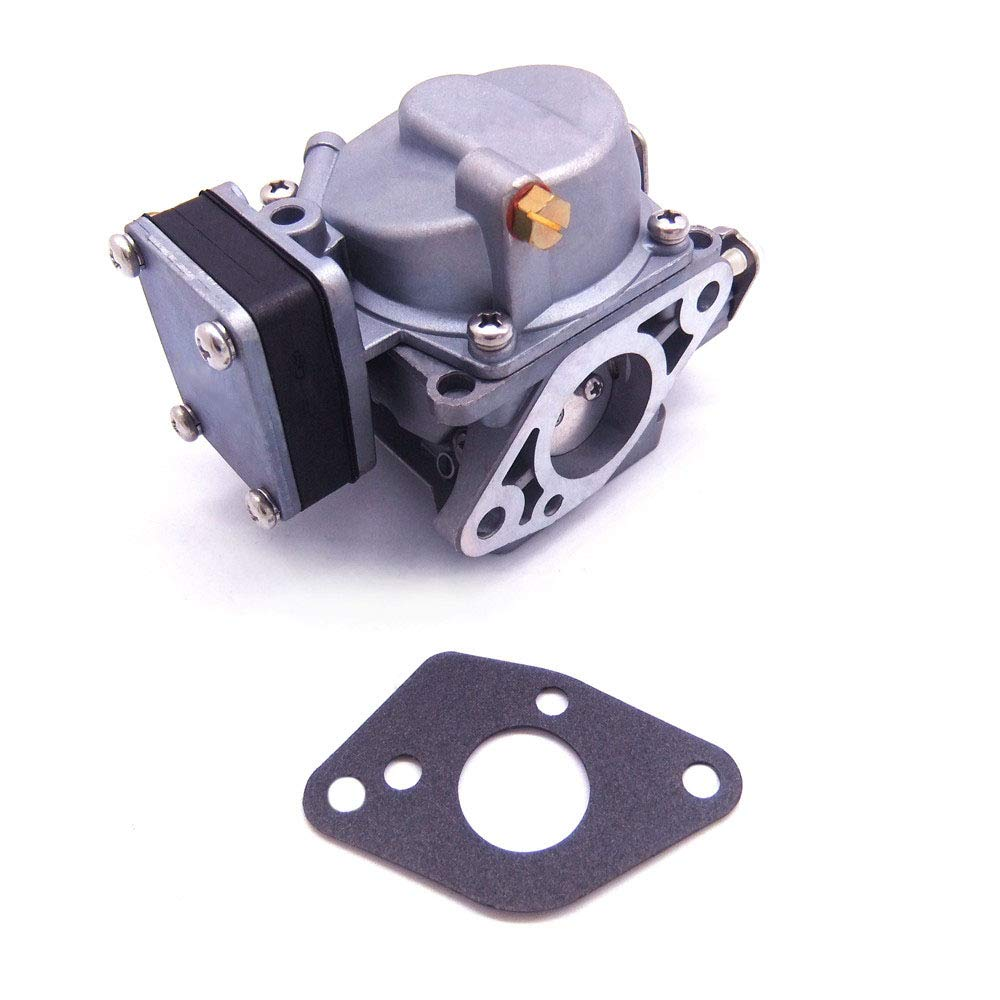 Boat Motor Carburetor and Gasket for Hangkai 2-stroke 9.8hp 12hp Outboard