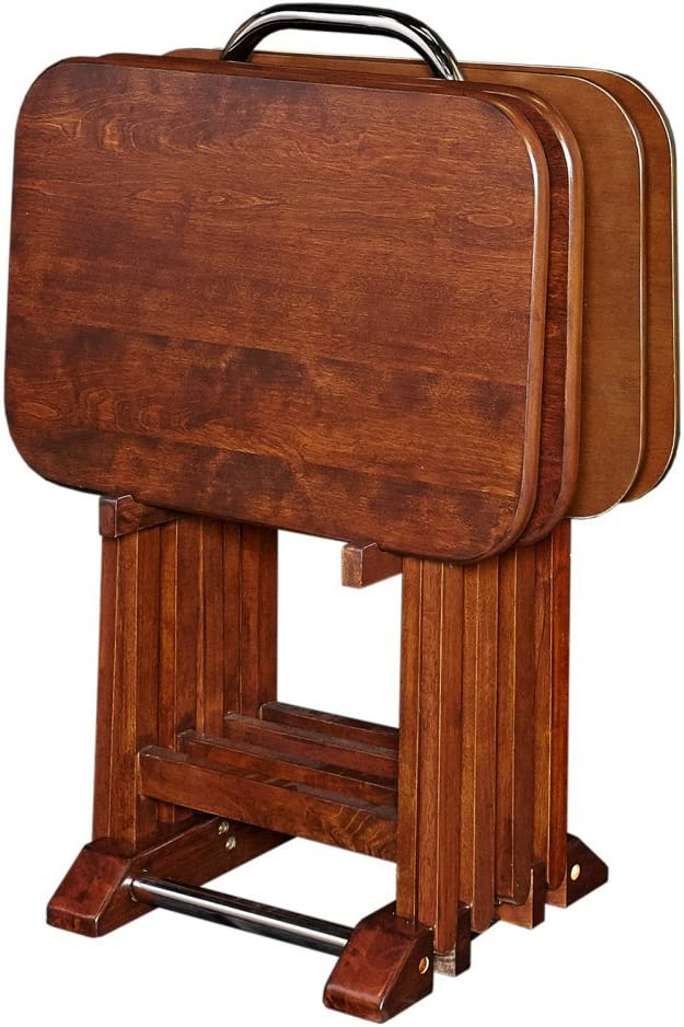 Powell Furniture Burke Tray Tables Cherry