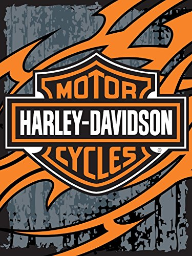Harley-Davidson Biker Tattoo Fleece Throw ()