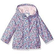 Carter's Baby Girls Fleece Lined Anorak Jacket, Disty Floral, 12M