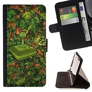 Momo Phone Case / Flip Funda de Cuero Case Cover - Modelo Retro Gaming;;;;;;;; - LG OPTIMUS L90