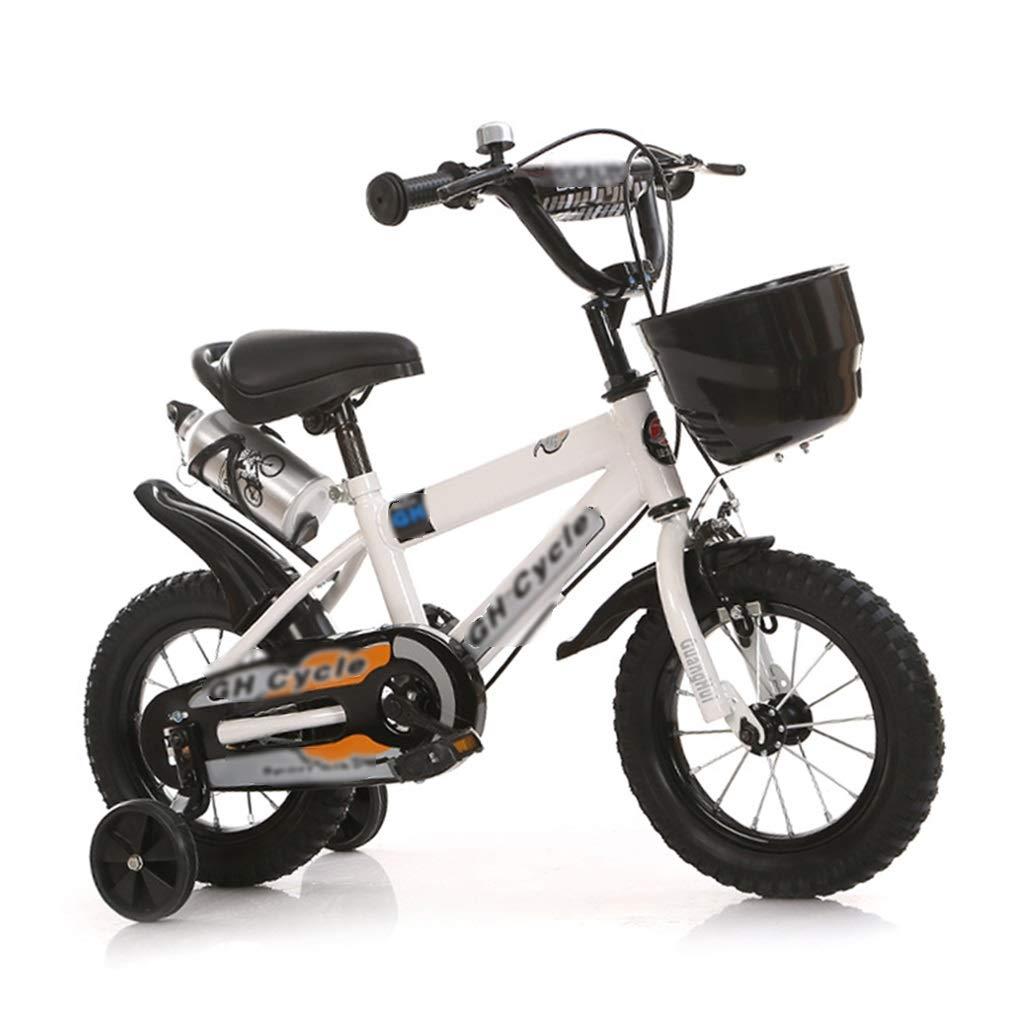 JianMeiHome Bicicleta para niños Bicicleta para niños Bicicleta de 18 Pulgadas de 3 a 12 años con Estabilizadores