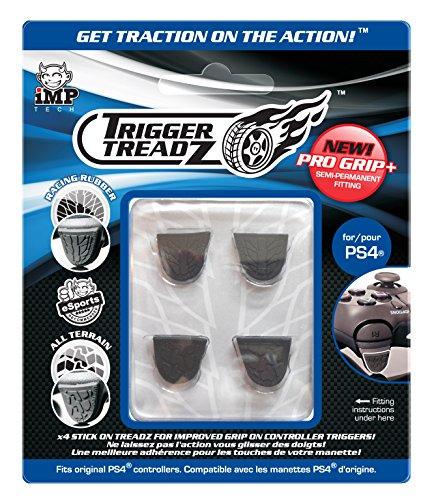 Snakebyte Trigger Treadz - Original 4-Pack for (PS4) - Anti Slip Trigger Rubbers - PlayStation 4