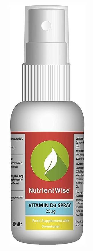 150 opinioni per Nutrient Wise™ Vitamina D- 50ml- Vitamin D3 Rociar