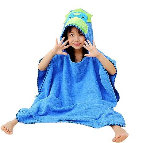 Cute Animal Cartoon Kids Hooded Bath//Beach Towels Various Colour Christmas Gift Dinosaur