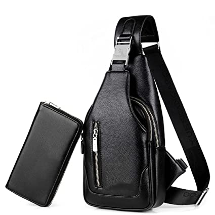 Amazon.com   GJX Men s Fashion Chest Bag 9a2c4a31241a2