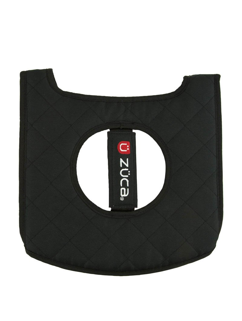 ZUCA Seat Cushion Black//Red