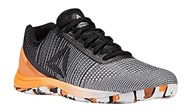 lowest price 18990 cff86 Reebok Men s CROSSFIT Nano 7 Sneaker, Men s Q Neon-White Black Solar