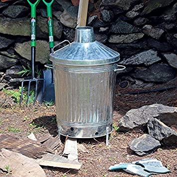 Kingfisher Martín Pescador insinb incineradora de jardín, Transparente, tamaño Mediano: Amazon.es: Jardín