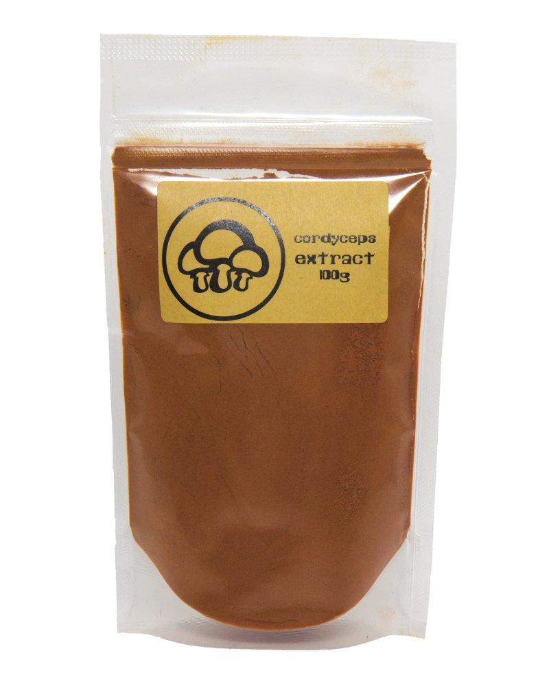 Cordyceps Mushroom Extract Powder by Appropriated Cultures - 100g (3.5oz) bulk powder - Supports Immunity, Energy, Stamina by Appropriated Cultures