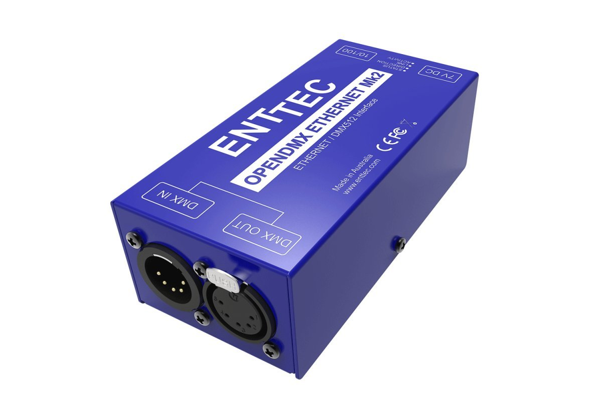 Enttec ODE POE 70406 Open ArtNet DMX Ethernet MK2 RDM Lighting Controller Interface by SIRS-E
