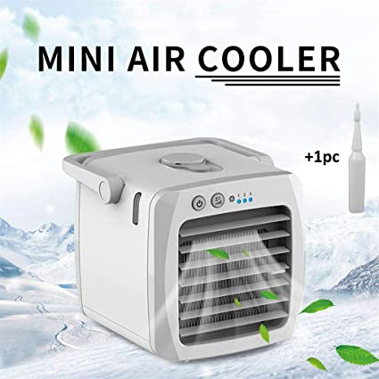 Aire Acondicionado Port/átil Caravana Ventilador de aire para Coche con refrigeraci/ón por agua USB Humidificador Purificador de aire sin Tubo