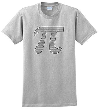 Amazon Thiswear Funny Math Gifts Pi Filled Pi Symbol T Shirt