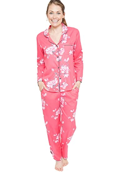 3864e2b271de Cyberjammies Chloe Woven Floral Print Super Soft Pyjama Pajama Set  (4072 4073)  Amazon.co.uk  Clothing