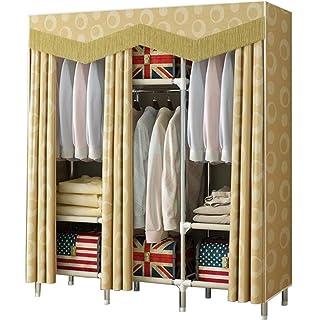 Amazon.com: Armario simple de madera maciza para el hogar ...