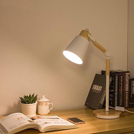 E27 Lámparas de Escritorio LED Escritorio Estudiar Lámpara ...