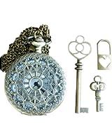 4Pcs Alice in Wonderland Steampunk Antique Tibetan Jewelry Findings Mix Lot 93