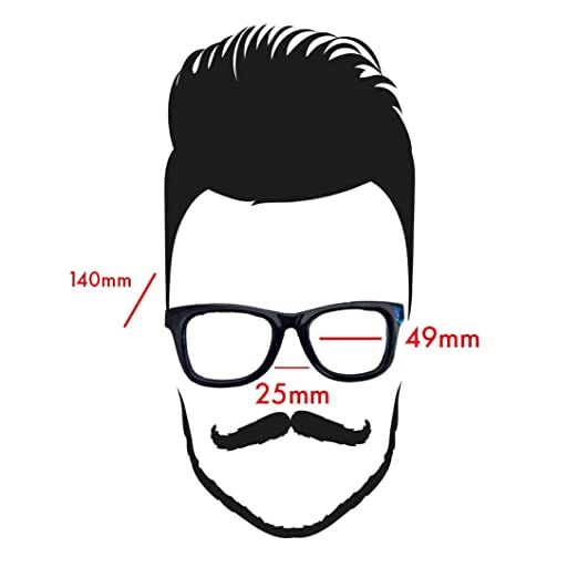 3fdeabe1413a Amazon.com  The Bluesman retro black polycarbonate rimmed prescription eyeglass  frames  Health   Personal Care