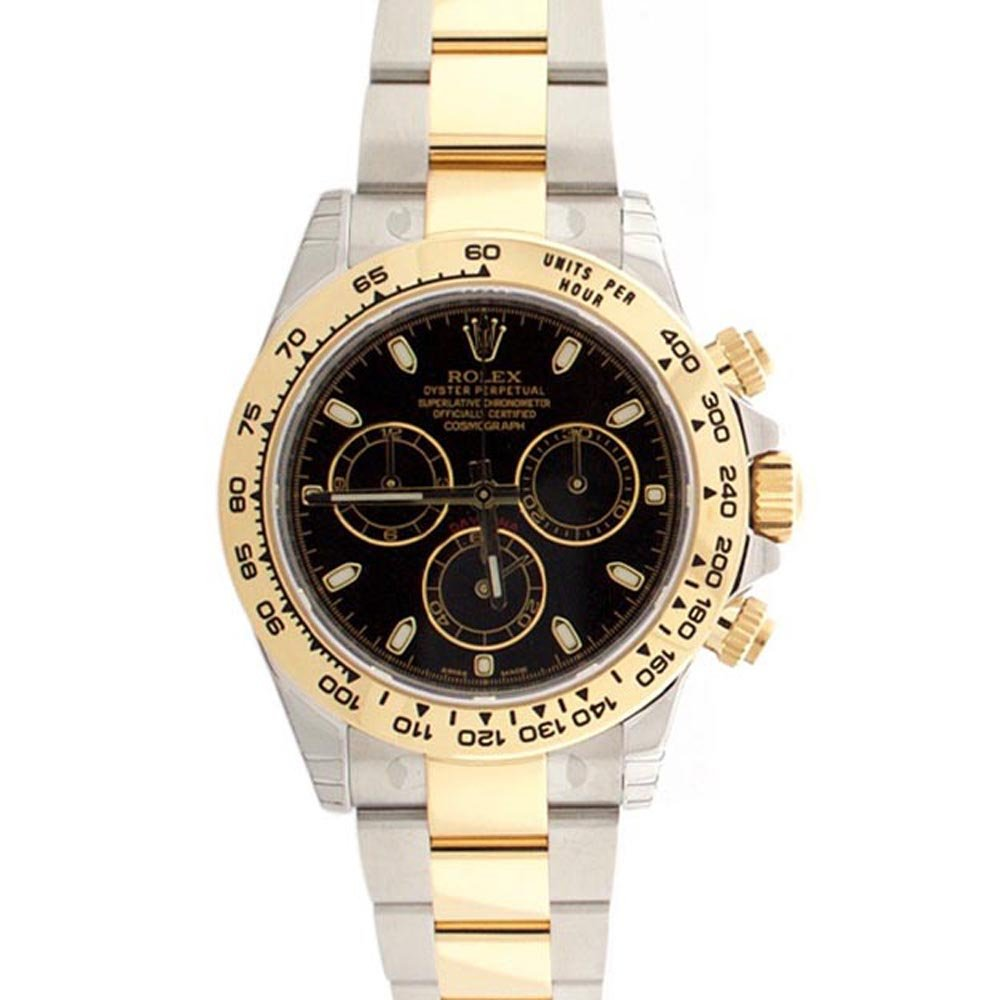 Amazon.com Rolex Cosmograph Daytona Black Dial Gold And