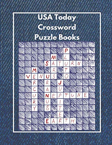 USA Today Crossword Puzzle Books.: Crossword Puzzle Dictionary 2019 Paperback , Worlds Biggest Crossword , Easy Crossword Puzzle Books For Adults