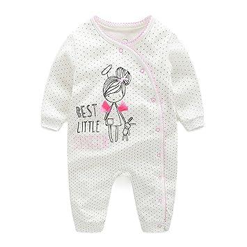 1aff43a9cea12 エルフ ベビー(Fairy Baby)新生児服 カバーオールロンパース 前開き 長袖 四季兼用 出産