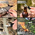 Gifts for Men Dad Boyfriend,Survival Gear Kits 9 in 1 Fishing Hiking Hunting Birthday Gift Ideas for Husband Him Son, Emergency Survival Tool by SULKADA