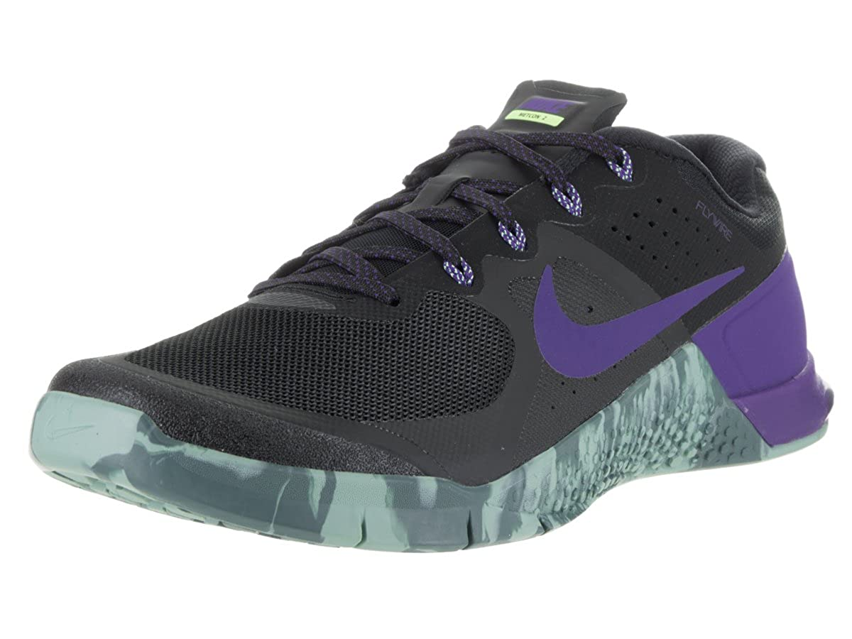 clásico Fértil aeropuerto  Buy Nike Men's Metcon 2 Black/Fierce Purple Hasta Training Shoe 10. 5 Men  US at Amazon.in