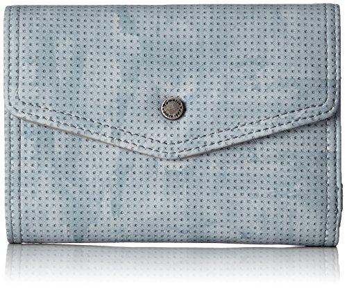 Tamaris Adriana Small Wallet With Flap - Bolsos bandolera Mujer Azul (Light Blue)
