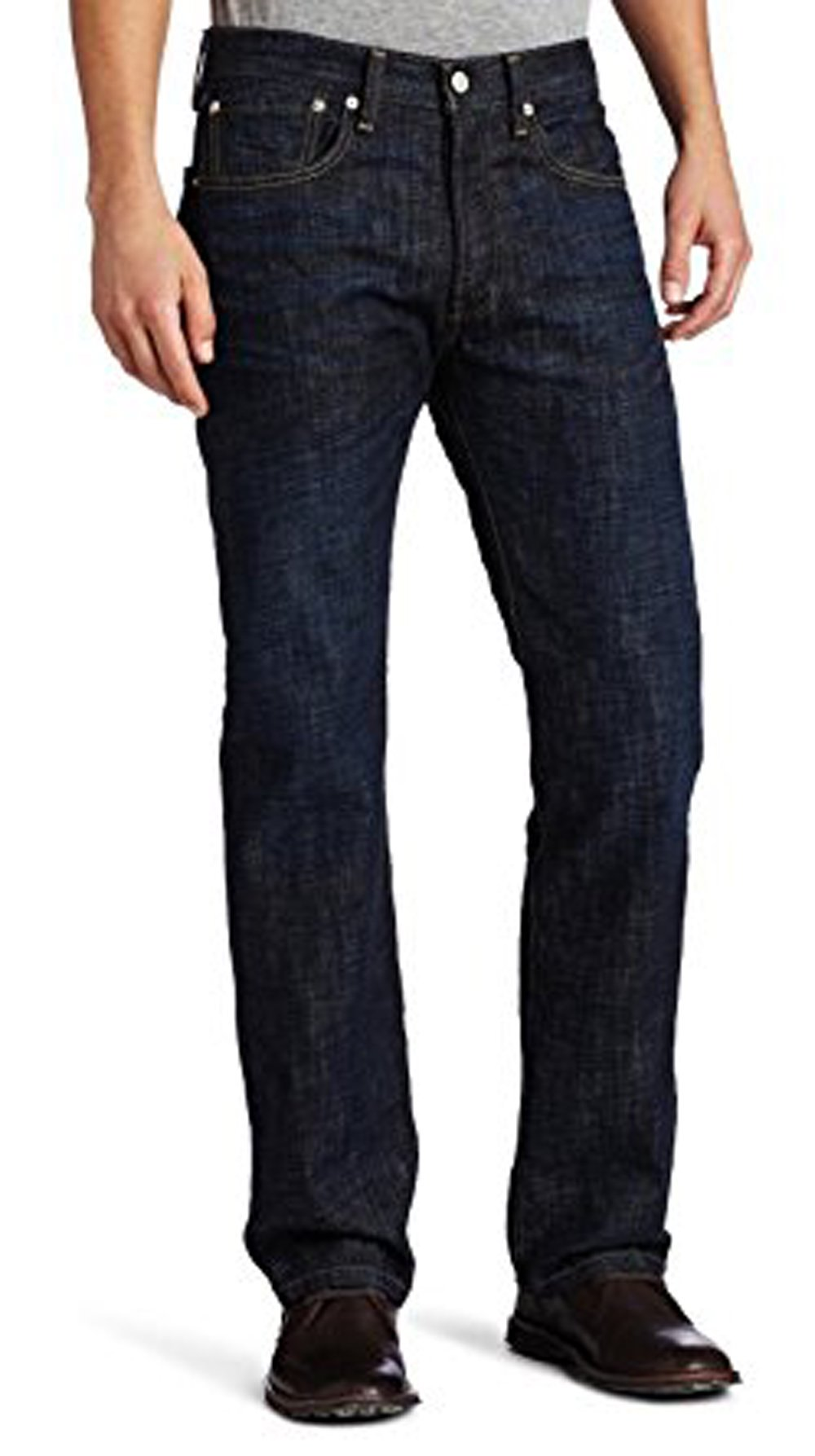 Levi's Men's 501 Original Fit Jean, Tidal Blue, 29x34