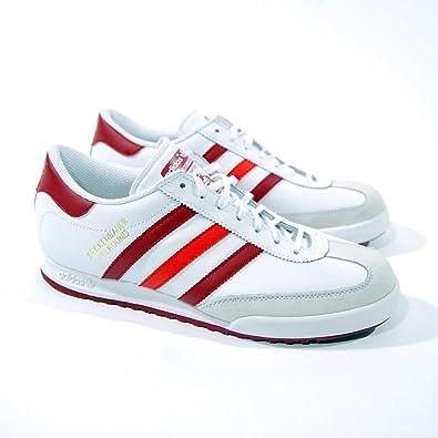 adidas Originals SHOES Beckenbauer MAN LEATHER WHITE AND