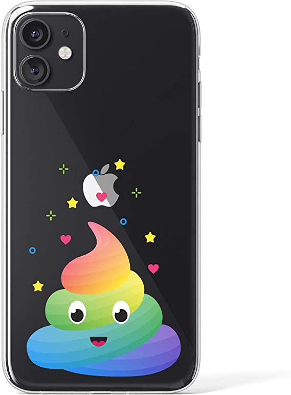 Unicorn Rainbow Magic Clear TPU Case