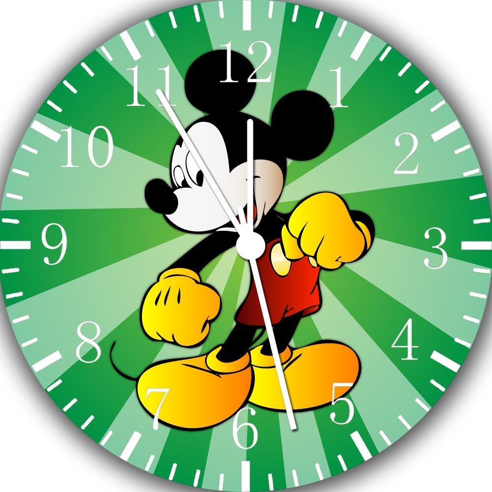 Disney Mickey Mouse Wall Clock 10 Will Be Nice Gift and Room Wall Decor E103 IKEA