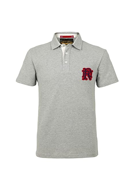 Frontal Up Rugby Polo de Manga Corta, Hombre, Short Sleeve, Z75 ...