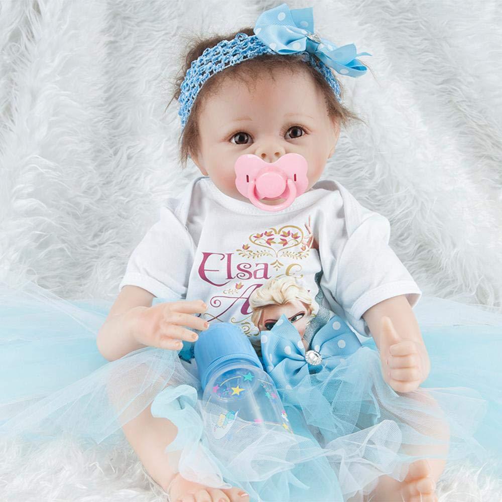 Hongge Reborn Baby Doll,Realista Reborn Baby Baby recién Hecho a Mano Baby Doll Toy Gift 55cm