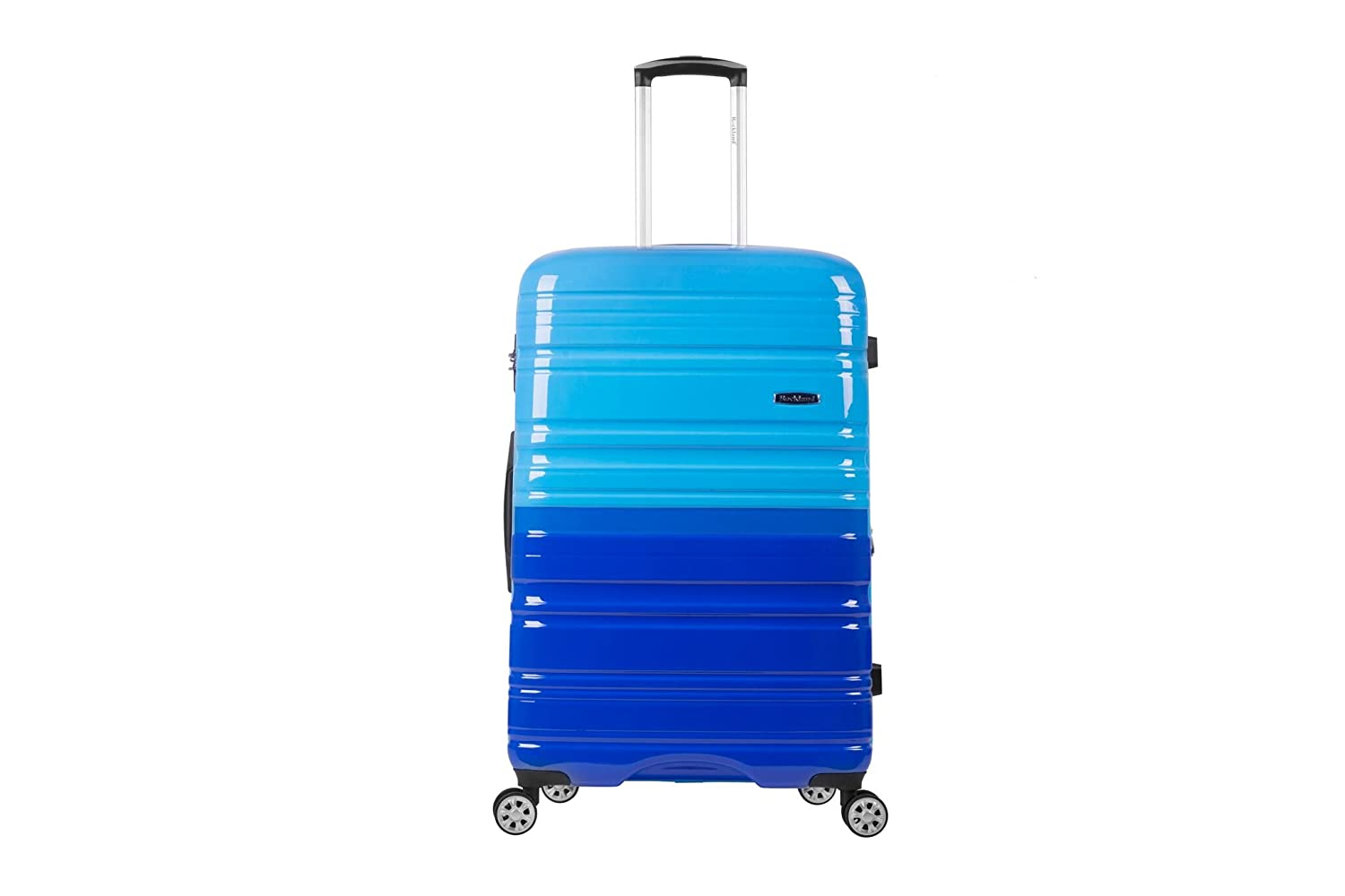 Rockland Luggage Melbourne 20 Inch Expandable Carry On, Turquoise, One Size Fox Luggage F145-TURQUOISE