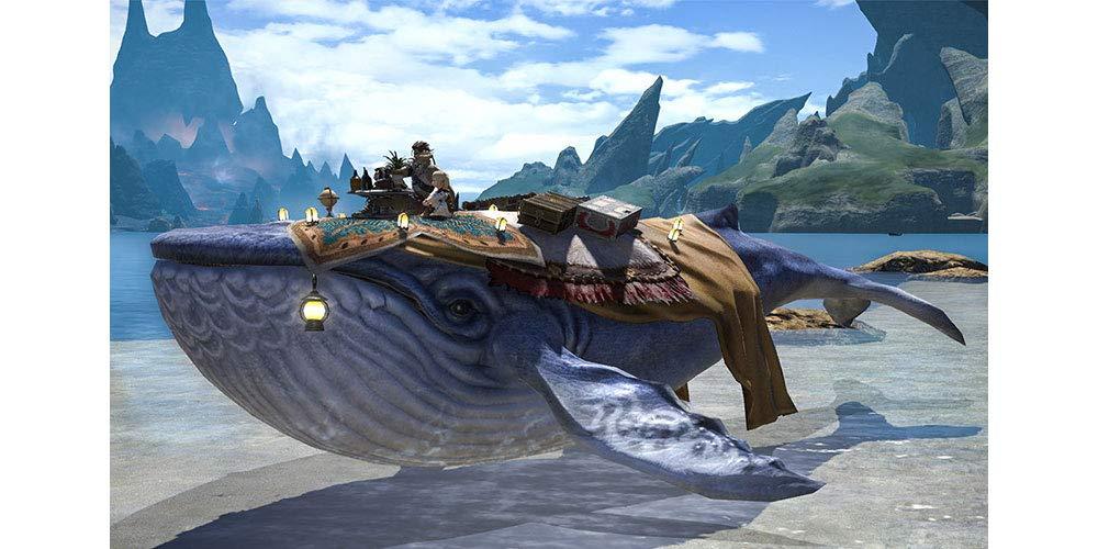 FFXIV Mount: Indigo Whale (Account-wide) | Mog Station Gift Code | FINAL  FANTASY XIV