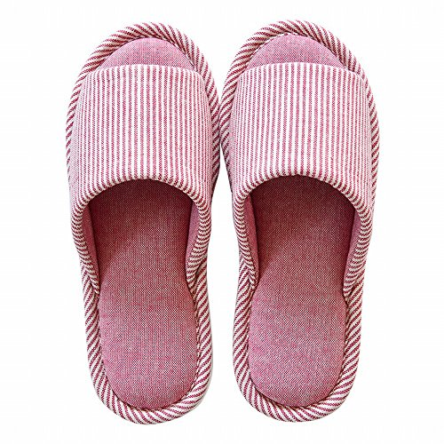 Pantoufles Chaussures Imperméable Maison Four Seasons Printemps 40 39 40 Chaussures Et Couple Automne Antidérapantes Coton B de Tissu A 39 zpOzvf