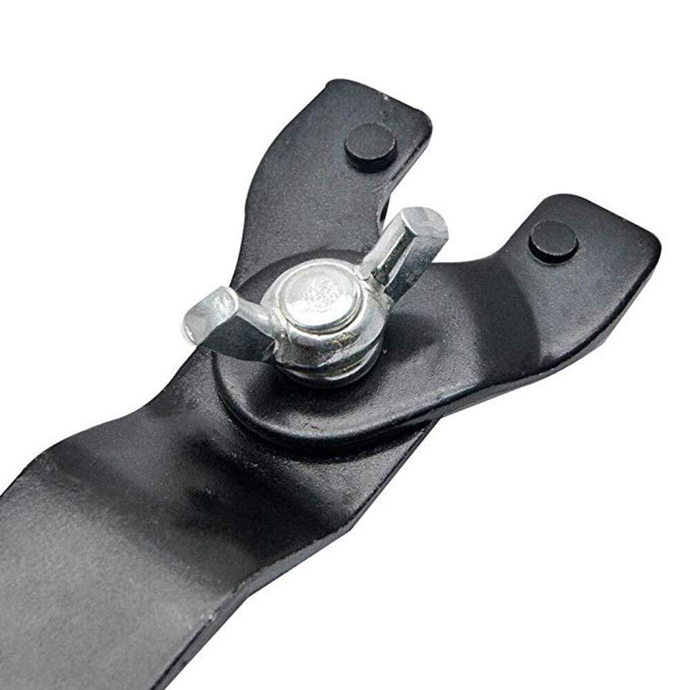 HPiano Winkelschleifer Schraubenschl/üssel 3 Stk F/ür Schleifmaschinen Scheiben ersetzen 8-50 mm Winkelschleifer Einstellbarer Schraubenschl/üssel Stiftschl/üssel f/ür Winkelschleifer